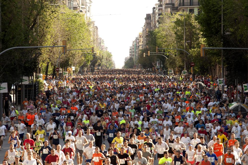 Las mejores carreras populares en España, maratones, trail de montaña, media maratón