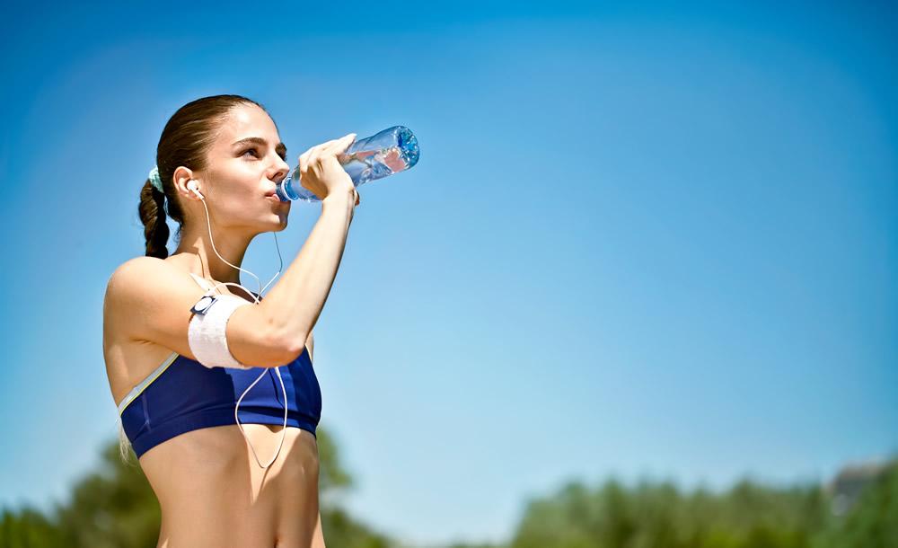 hidratación para después de correr